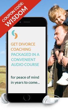 Get divorce coaching packaged into a convenient audio course for peace of mind in years to come...