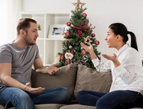 Divorcing but Still Living Together During the Holidays?